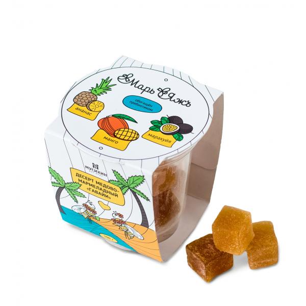 Десерт медово-мармеладный «Гавайи» 100 г.