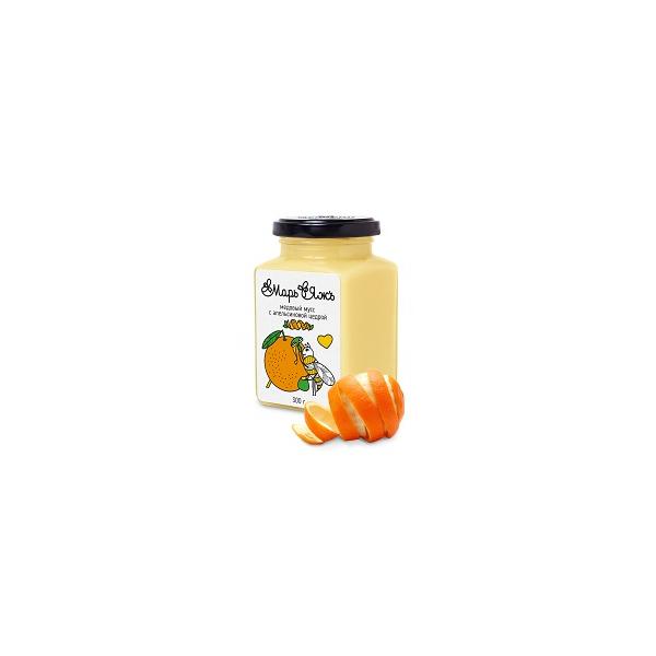 Медовый мусс с апельсиновой цедрой 300 г.