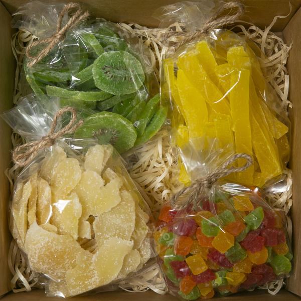Подарочный набор цукатов № 16 (400 г.)
