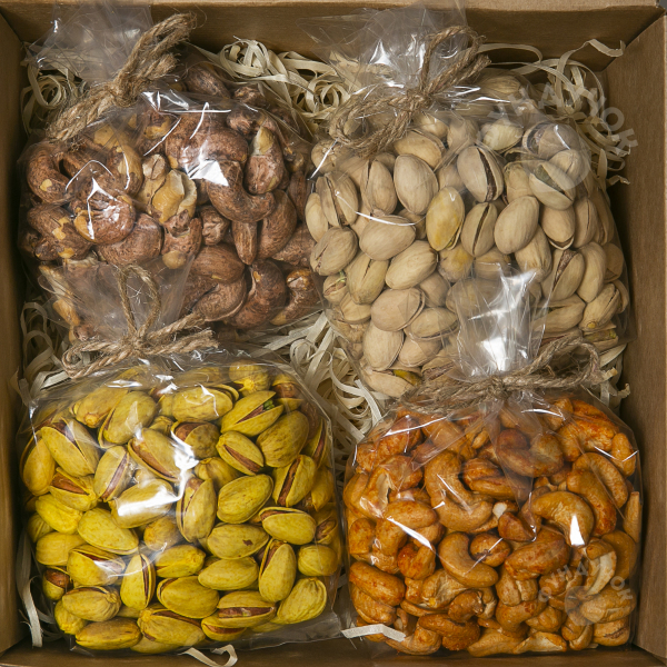 Подарочный набор орехов № 33 (400 г.)