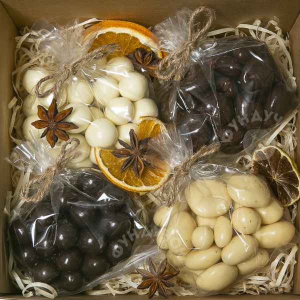 Подарочный набор сладостей № 7 (400 г.)