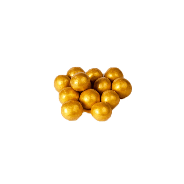 Драже праздничное фундук (золото)