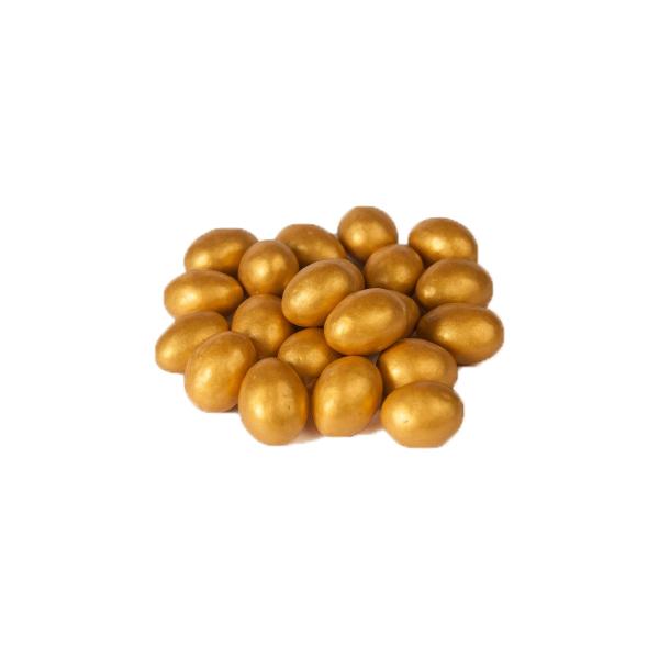 Драже праздничное миндаль (золото)