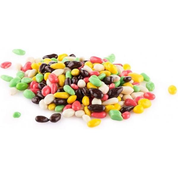 Семечки в разноцветной шоколадной глазури